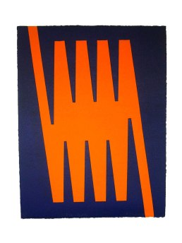 Enter and Exit ll, 445mm x 340mm, Woodblock. Edition 5