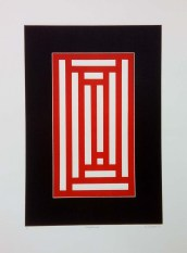Compartment, 760mm x 560mm, Wood Block. Edition 5