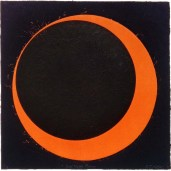 Bad Moon Rising, 380mm x 380mm, Relief & Carborundum. Edition 5