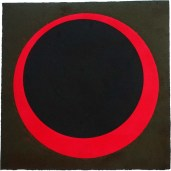 Ring of Fire, 380mm x 380mm, Relief & Carborundum. Edition 4